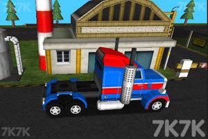 《3D货运大卡车》截图9