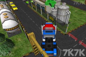 《3D货运大卡车》截图1