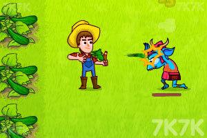 《农夫大战丧尸》游戏画面1