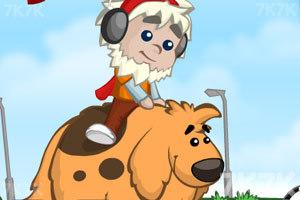《男孩与狗狗回家》游戏画面1