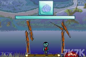 《炸弹埋僵尸》游戏画面2