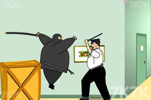 《胖忍者打保安》游戏画面10