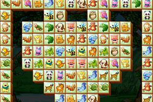 《可爱的动物连连看》游戏画面1