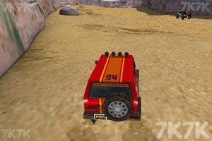 《3D峡谷四驱车》游戏画面3