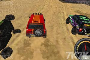 《3D峡谷四驱车》游戏画面2