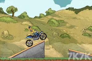 《摩托特技越野赛》游戏画面2