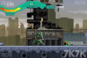 《疯狂机械人》游戏画面5