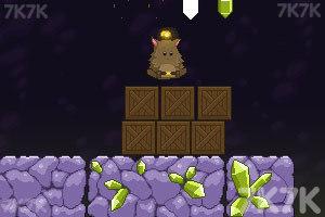 《胖胖猫山洞大闯关》游戏画面7