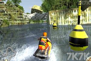 《3D极限摩托艇》游戏画面9