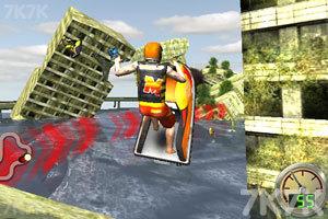 《3D极限摩托艇》游戏画面1