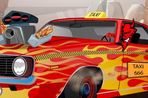 《地狱出租车无敌版》游戏画面1
