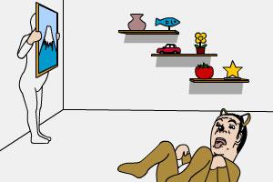 《搞怪太郎室内逃脱》游戏画面1