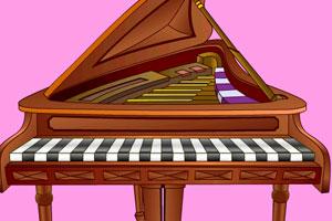 《流行钢琴》游戏画面1