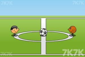 《双人足球》游戏画面1
