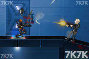 《狙击外星人部队无敌版》游戏画面8