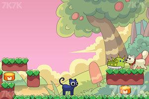 《友爱的猫猫与狗狗》游戏画面4