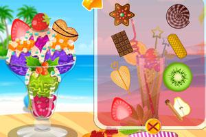 《美味水果冰淇淋》游戏画面1