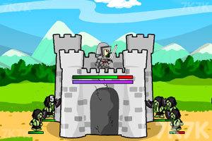《传奇战争-城堡防御》游戏画面1