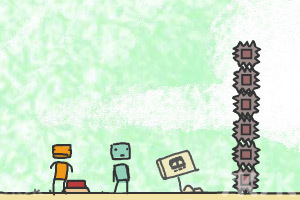 《盒子人历险记》游戏画面1