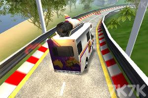 《极速卡车过山车》游戏画面2