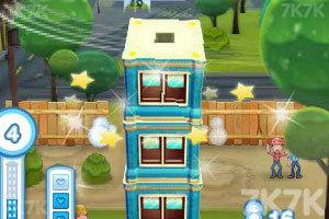 《高楼叠叠乐豪华3D版》游戏画面4