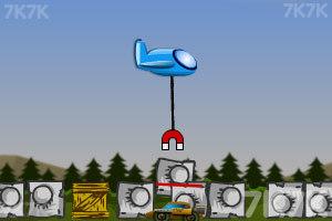 《磁铁飞机防御》游戏画面4
