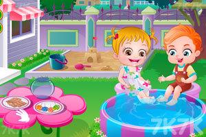 《可爱宝贝救金鱼》游戏画面1