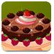 巧克力香草蛋糕