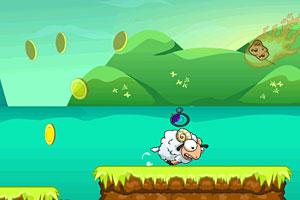 《小绵羊跑酷无敌版》游戏画面1