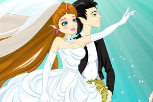 《海洋公主婚礼》游戏画面1