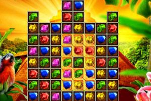 《金字塔宝石对对碰》游戏画面1