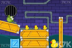 《小鳄鱼爱小黄鸭》游戏画面3