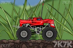 《玩具卡车破坏之路》游戏画面2
