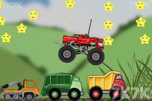 《玩具卡车破坏之路》游戏画面9
