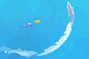 《海豚奥运会2无敌版》游戏画面1