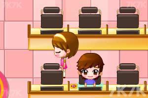 《可爱美眉开网吧》游戏画面5