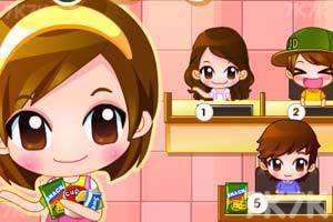 《可爱美眉开网吧》游戏画面1