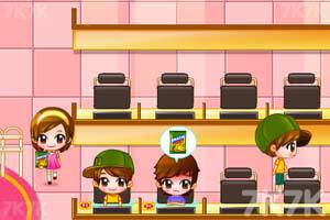 《可爱美眉开网吧》游戏画面7