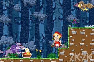 《小红帽看外婆》游戏画面1