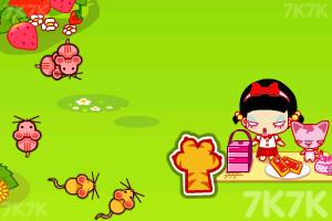 《小黑花花抓土拨鼠》游戏画面2