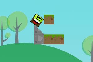 《调皮小方块》游戏画面1