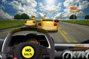 《3D真实赛车》游戏画面1