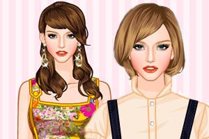 《耀眼裙装》游戏画面1