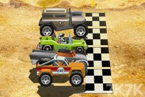 《沙丘地形赛》游戏画面1