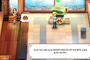 《经营疯狂巧克力店》游戏画面5