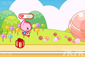 《小黑花花捡糖果》游戏画面4