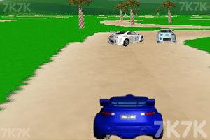 《3D飙车赛》游戏画面3