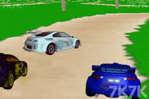 《3D飙车赛》游戏画面2