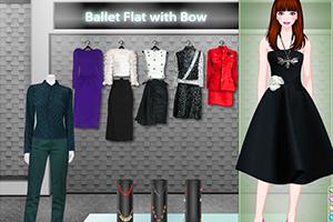 《时尚平底鞋》游戏画面1