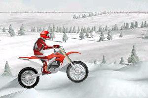 《冰山雪地摩托车》游戏画面9
